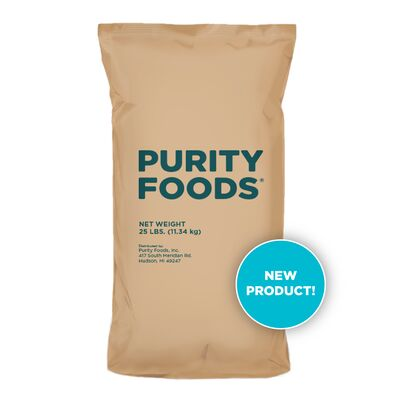 Purity Foods 25 Lb New Product