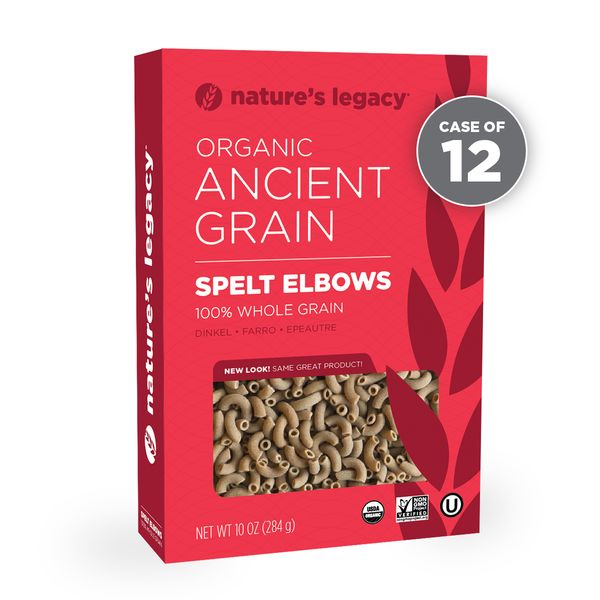 Whole Grain Elbows Case Of 12 2019