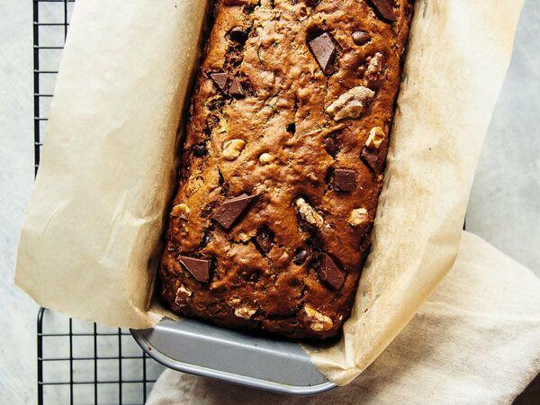 Vegan Spelt Zucchini Bread Recipe 4