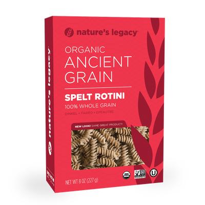 Whole Grain Rotini Front