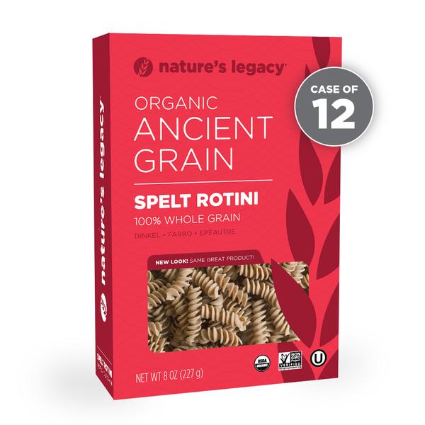 Whole Grain Rotini Case Of 12