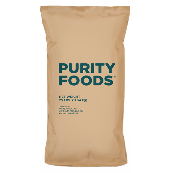 Purity Foods 25 Lb Bag